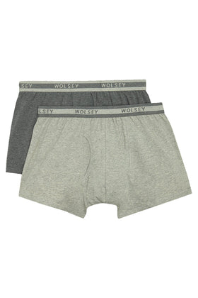 Grey 2 Pack Hipsters