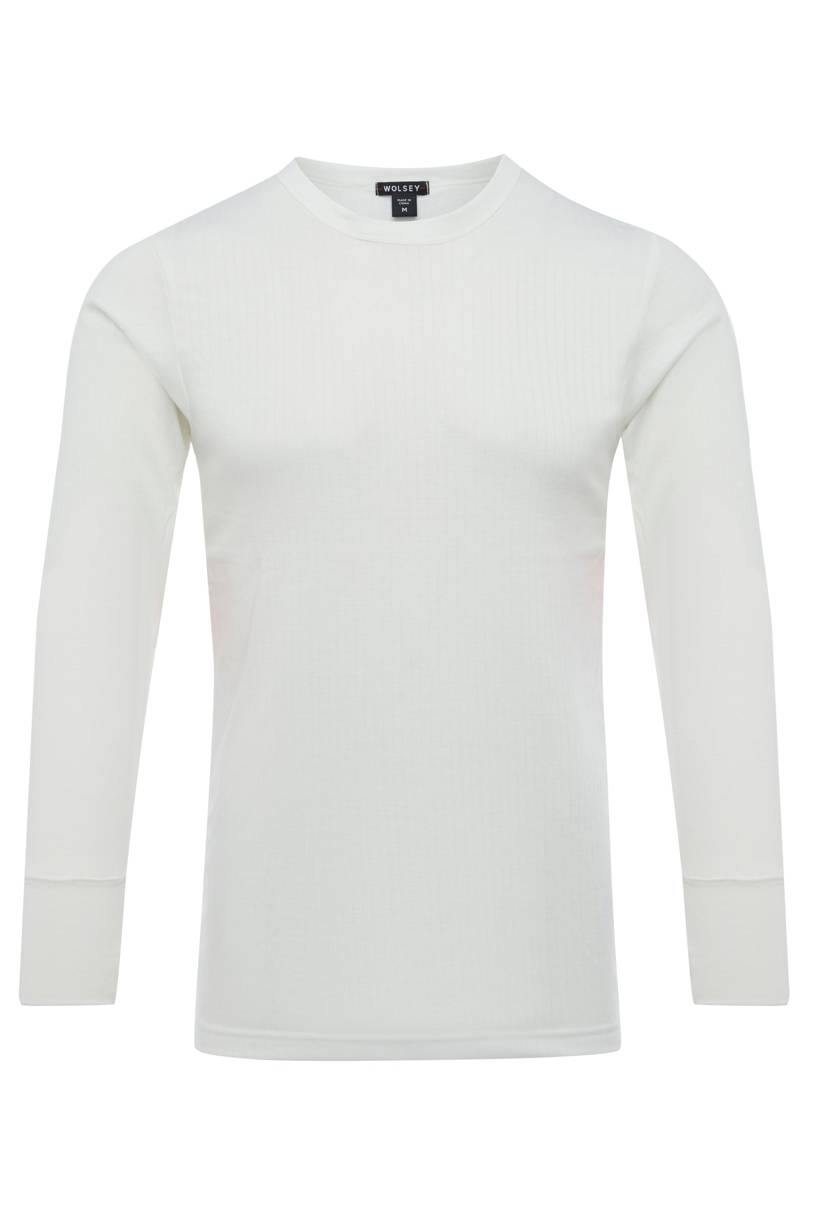 Natural Classic Thermal Long Sleeve T-Shirt [Twin Pack]