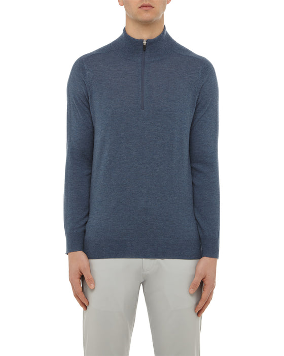 Airforce Merino 1/4 Zip Sweater
