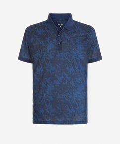 TOTAL ECLIPSE SHADOW PRINT POLO