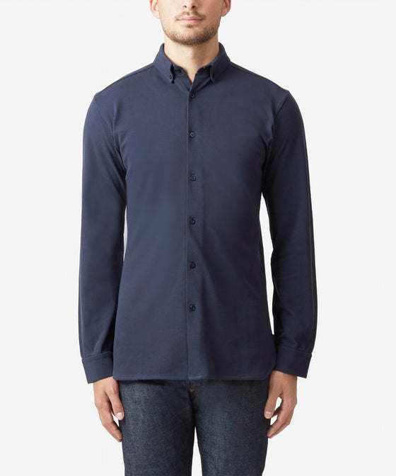 TOTAL ECLIPSE PIQUE BUTTON DOWN SHIRT
