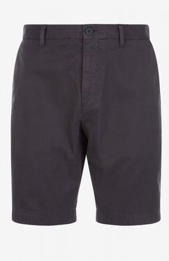 GRAPHITE SLIM FIT TAILORED COTTON SHORT