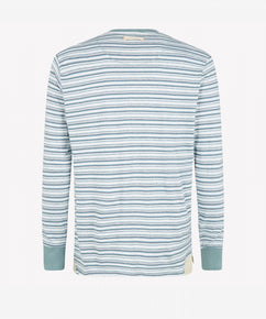 BLUEPRINT LONG SLEEVE HENLEY SHIRT