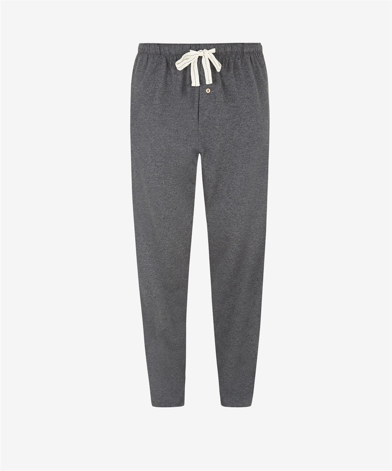GRAPHITE VINTAGE JERSEY LOUNGE TROUSERS