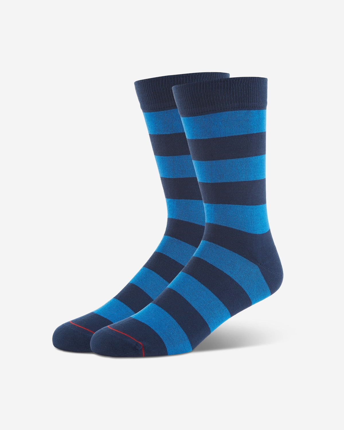 ENSBLU BLOCK STRIPE SOCK