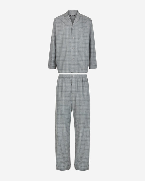 GRANITE LONG SLEEVE CHECK PYJAMA
