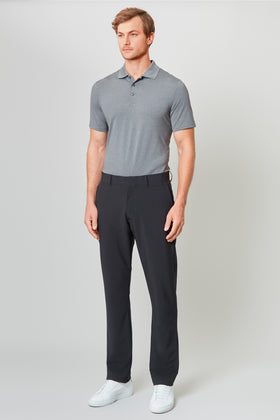 Black High Stretch Sport Chino