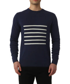 BRETON SWEATER IN TOTAL ECLIPSE