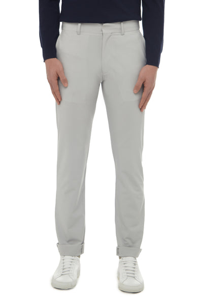 Lt Grey High Stretch Sports Chino