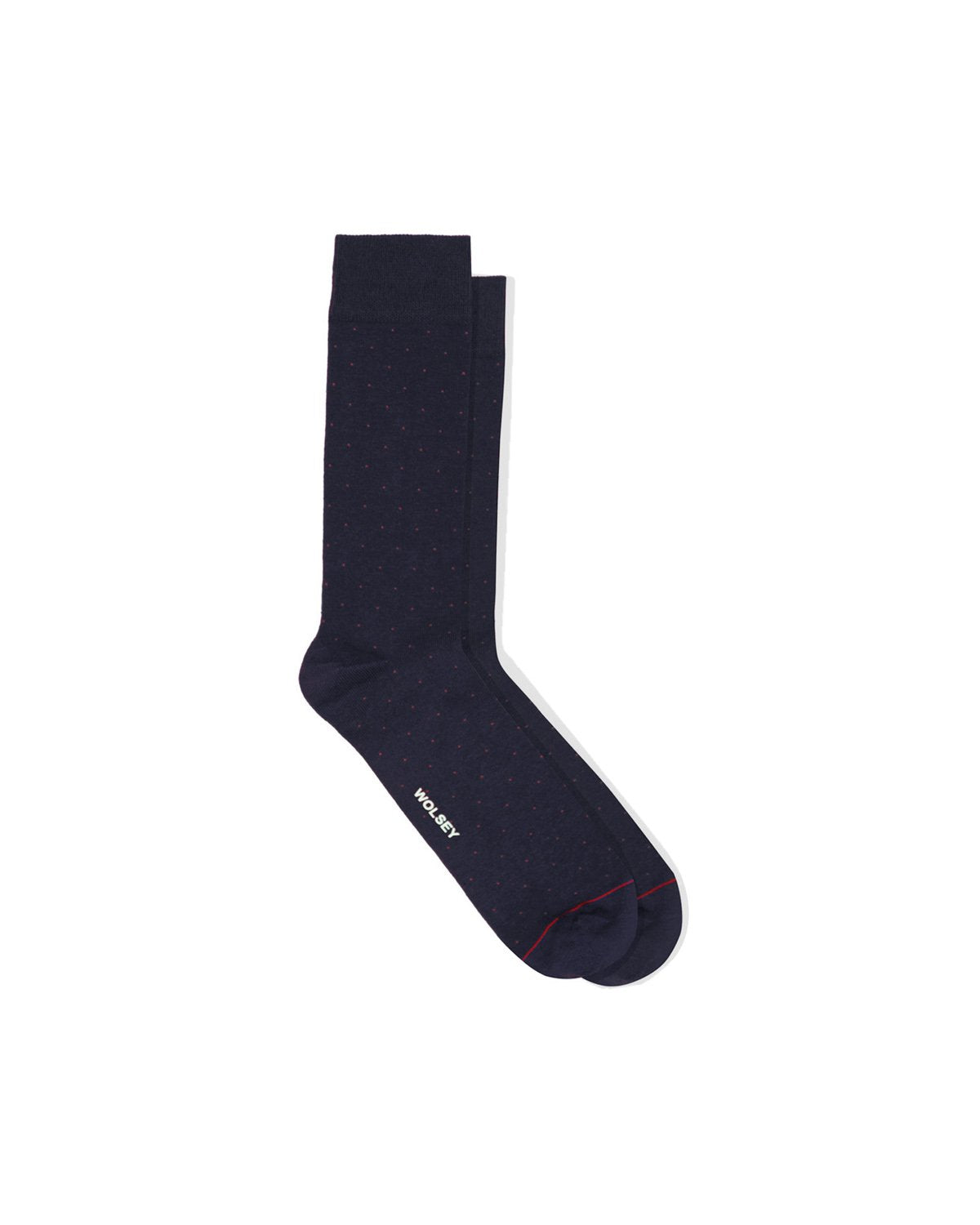 Total Eclipse Cotton Blend Micro Spot Sock