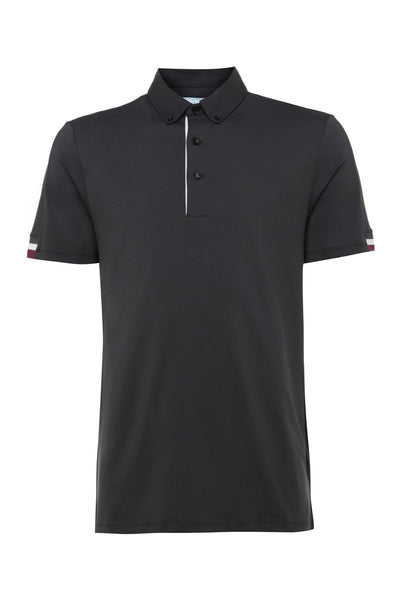 BLACK TIPPING SLEEVE POLO