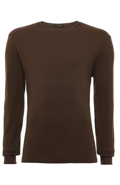 HUNTER RIB LONG SLEEVE T-SHIRT