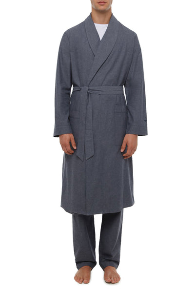 Total Eclipse Herringbone Shawl Neck Robe