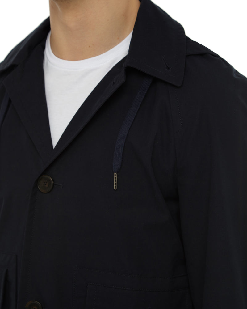 Navy Ventile Deck Jacket