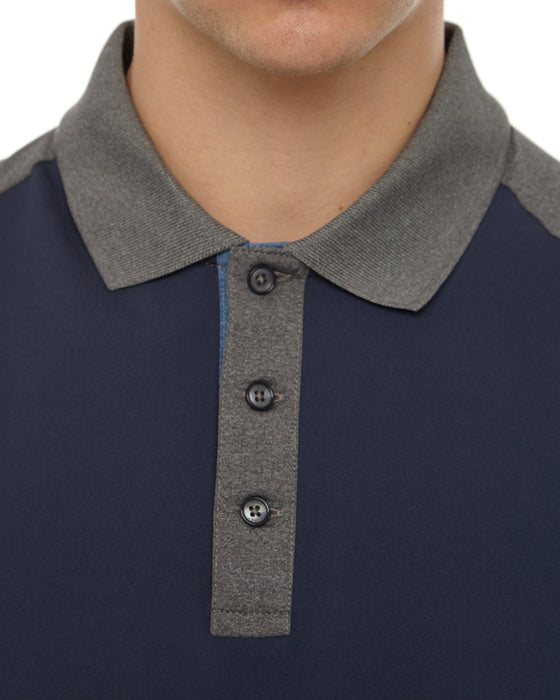 Total Eclipse Block Colour Polo