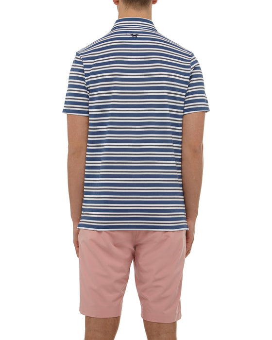 Total Eclipse Stripe Button Down Polo