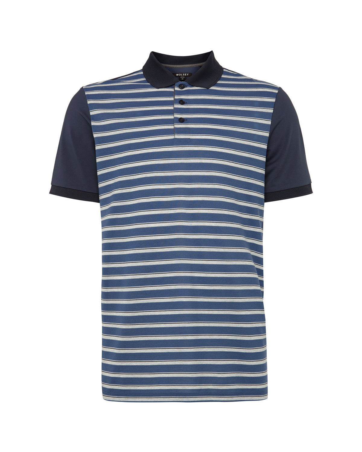 Total Eclipse Multi Stripe Polo