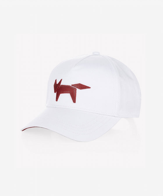 WHITE TRADITIONAL BASEBALL CAP