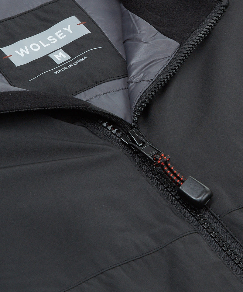 PIRATE BLACK INSULATOR FUNNEL NECK JACKET