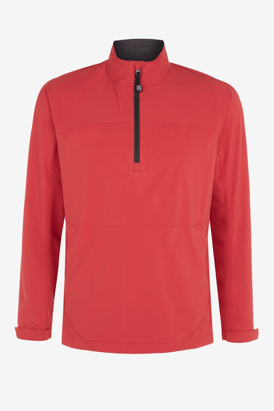 CHILLI PEPPER HALF ZIP THROUGH ANORAK