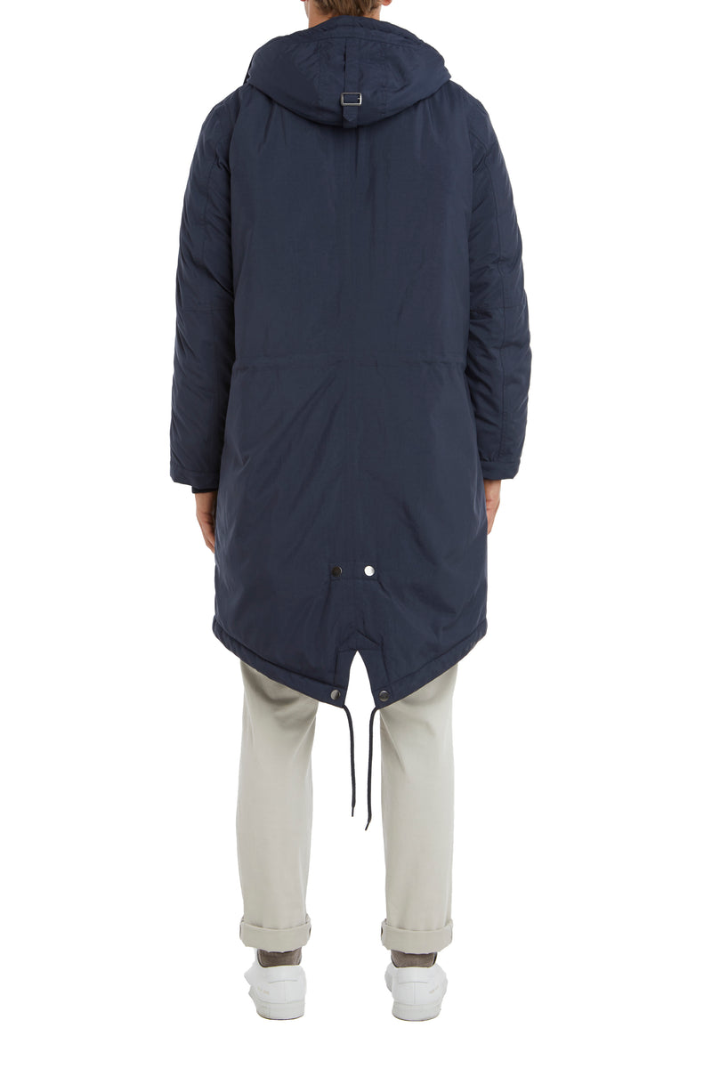 NAVY WATER RESISTANT PARKA