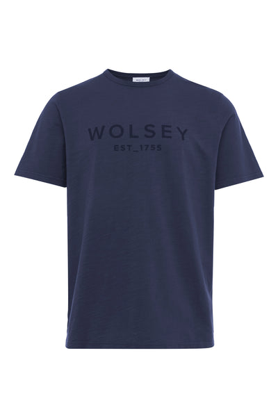 Dark Slate Wolsey 1755 Cotton T-Shirt