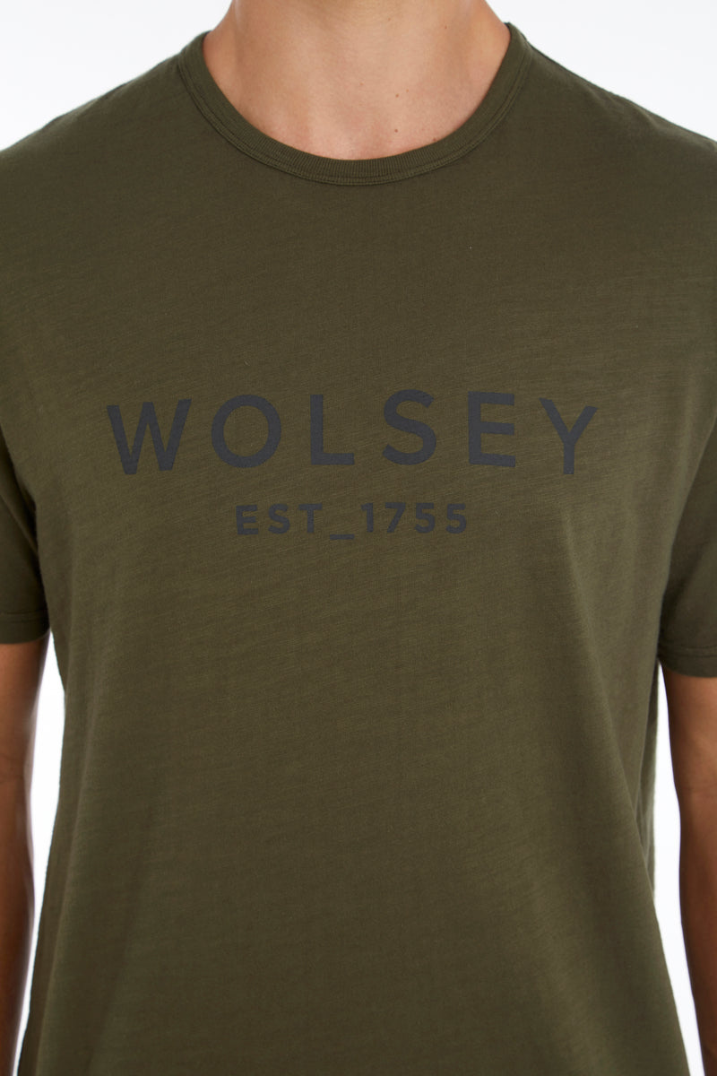 Military Wolsey 1755 Cotton T-Shirt