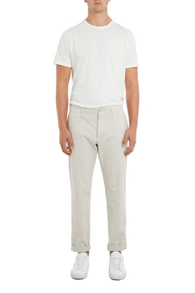 Oatmeal Stretch Twill Chino