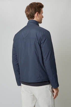 Navy Harrington Jacket