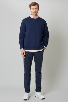 Navy Terry Sweat