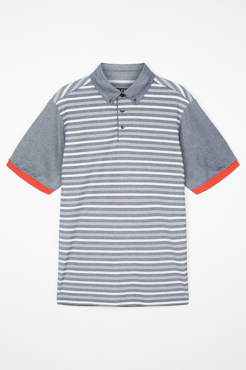 Total Eclipse Macro Stripe Polo