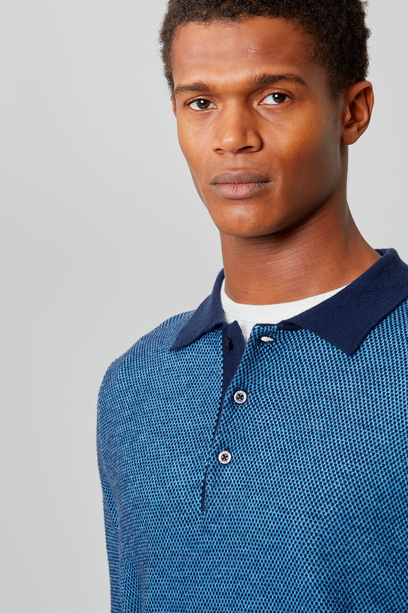 Total Eclipse Heathered Twist Polo