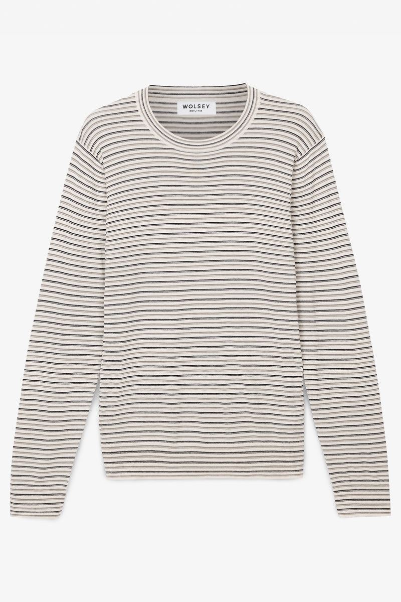 Stripe Knit Crew