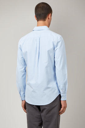 Sky Oxford Shirt