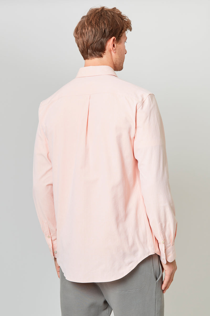 Apricot Oxford Shirt
