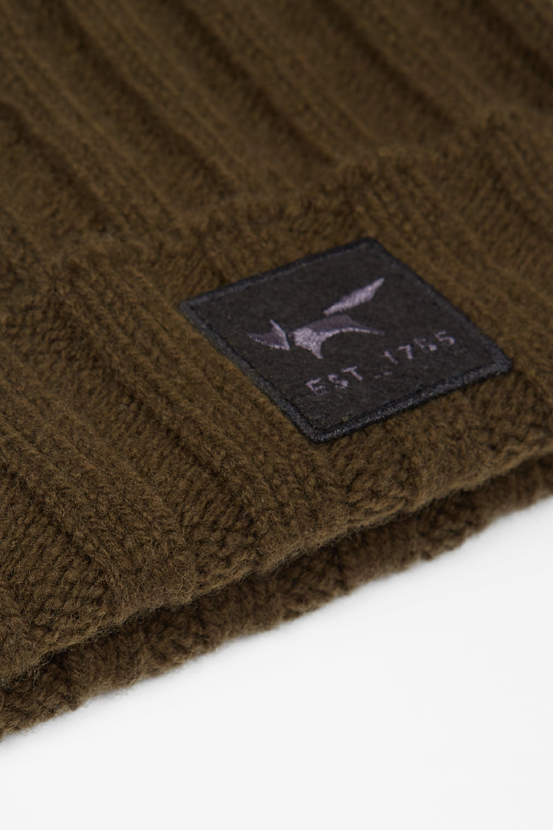 Military Lambswool Beanie