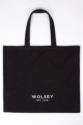 Black Brush Tote Bag
