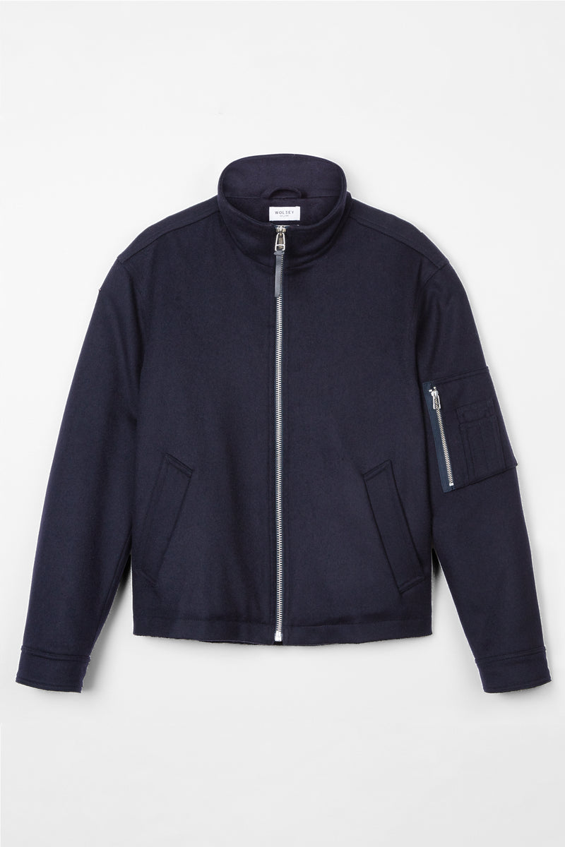 Navy Utility Harrington