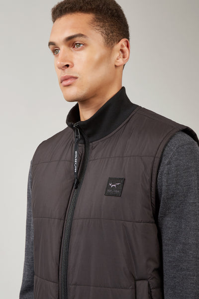 Black Insulated Gilet