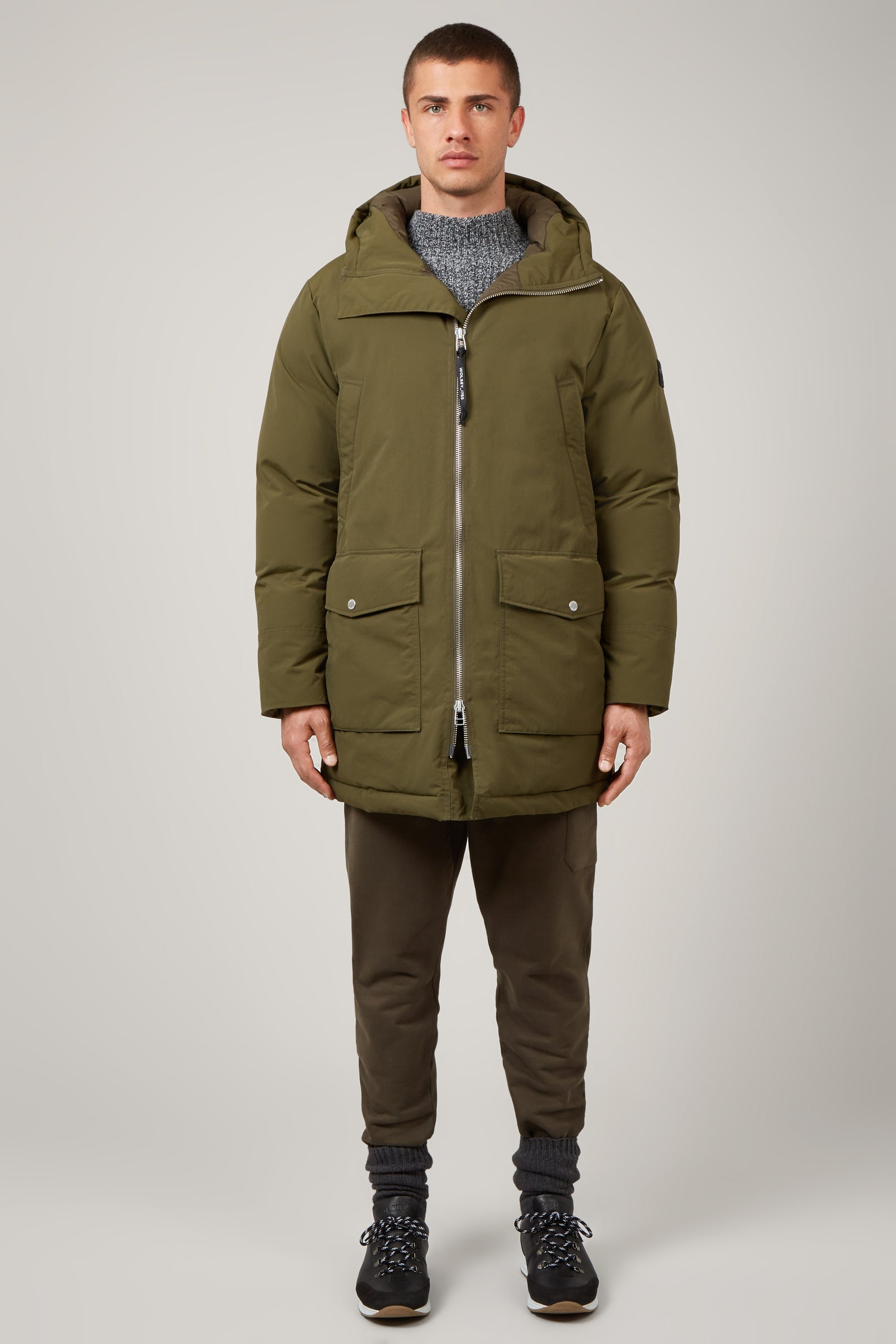 Army Green Explorer Parka