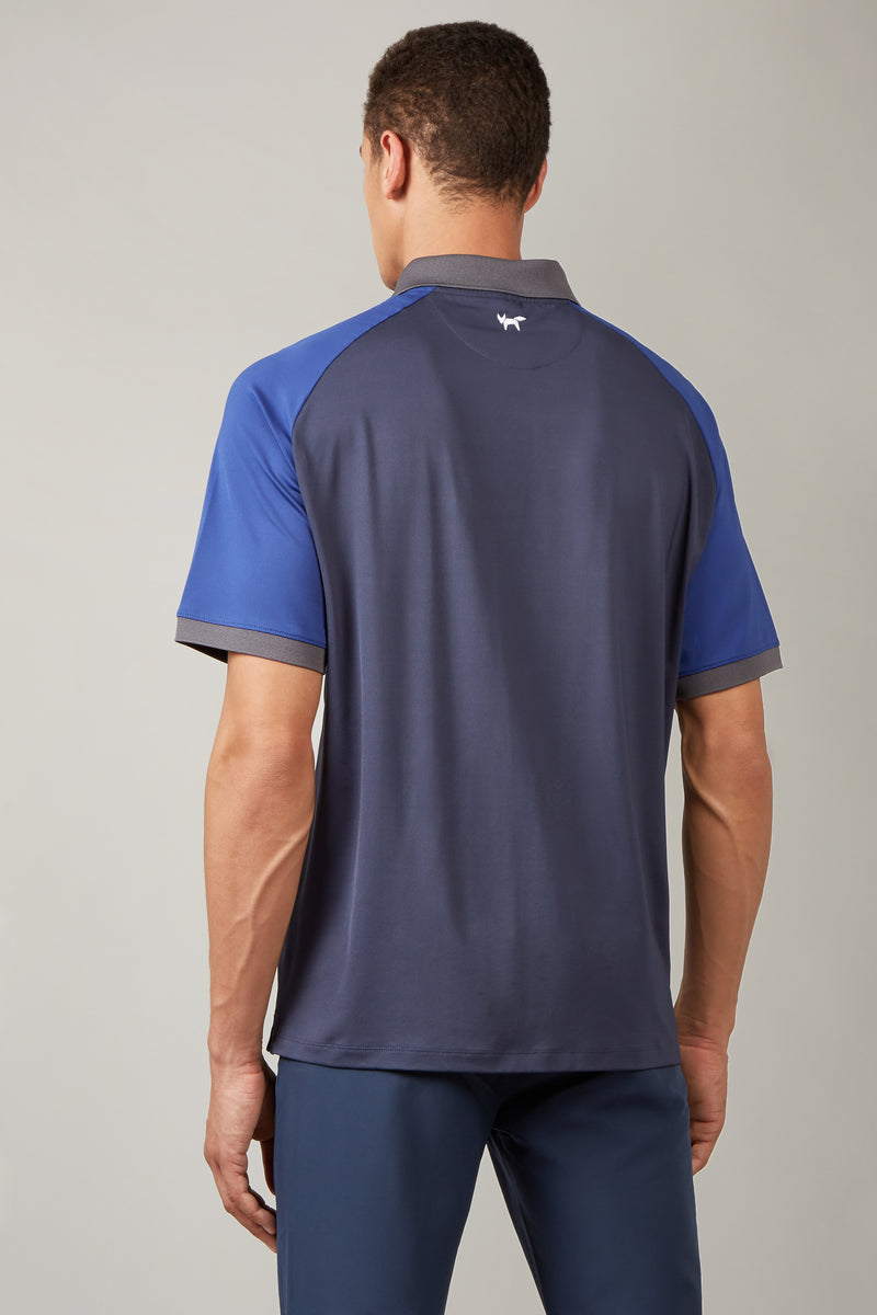 Total Eclipse Colour Block Raglan Polo