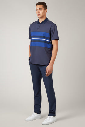 Total Eclipse Chest Stripe Polo