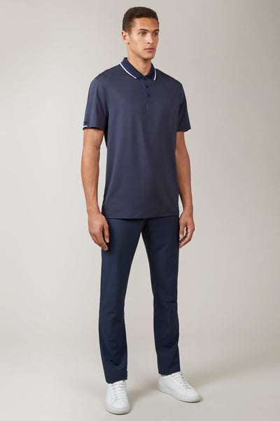 Total Eclipse Sleeve Stripe Polo
