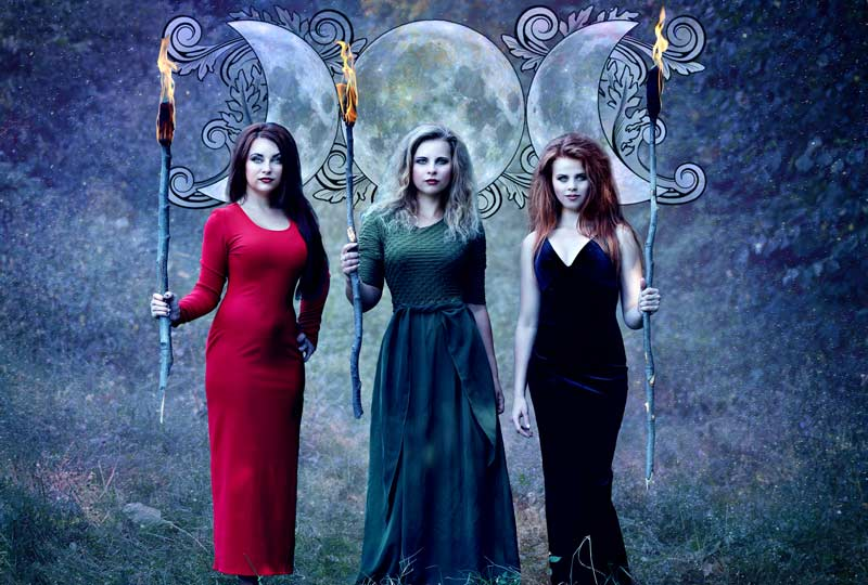 Understanding The Triple Goddess Symbol By Tracy Dixon