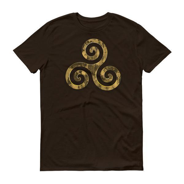 Triskelion Men's Shirt - Black Wolf Siren
