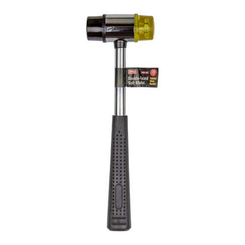 "11"" Double-Faced SOFT MALLET w/ Tubular Steel Handle - 0085-0"