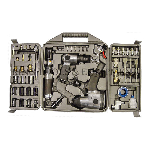 KING 50-pc Assorted AIR TOOL KIT