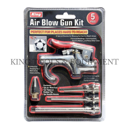 KING 5-pc AIR BLOW GUN SET