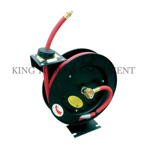 "KING 50' x 3/8"" Retractable AIR HOSE REEL"