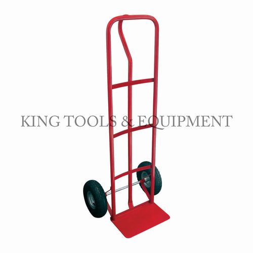 "KING 600 lbs Cap. HAND TRUCK w/ 10"" WHEEL and PNEUMATIC TIRE"